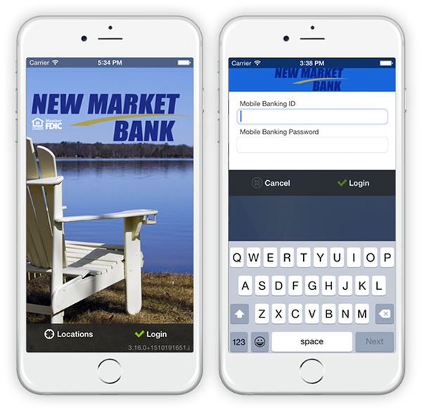 New Market Bank Mobile App